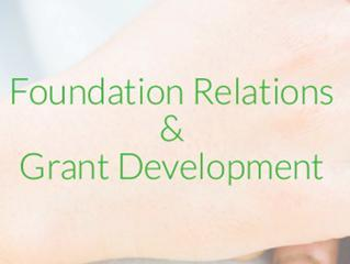 Foundation Relations & Grant Development