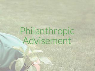 Philanthropic Advisement