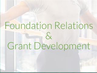 Foundation Relations & Grant Development