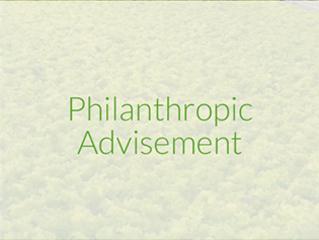 Philanthropic Advisement